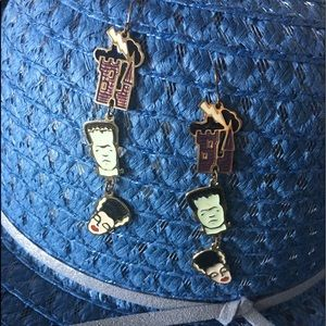 🤖Frankenstein, Bride and Mansion earrings